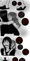 Jeff The Killer and Sally-Random comic #1