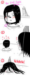 Jeff The Killer and Laughing Jack-Comic 17 by MikaelBratLoni