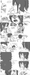 Jeff The Killer and Laughing Jack-Comic 18 by MikaelBratLoni