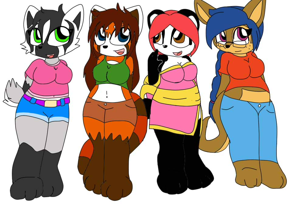 Adoptable Chubby Girls by queenmafdet