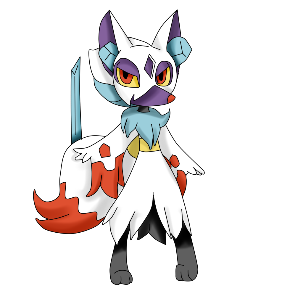 Froslass+braixen by Mongoosegoddess on DeviantArt