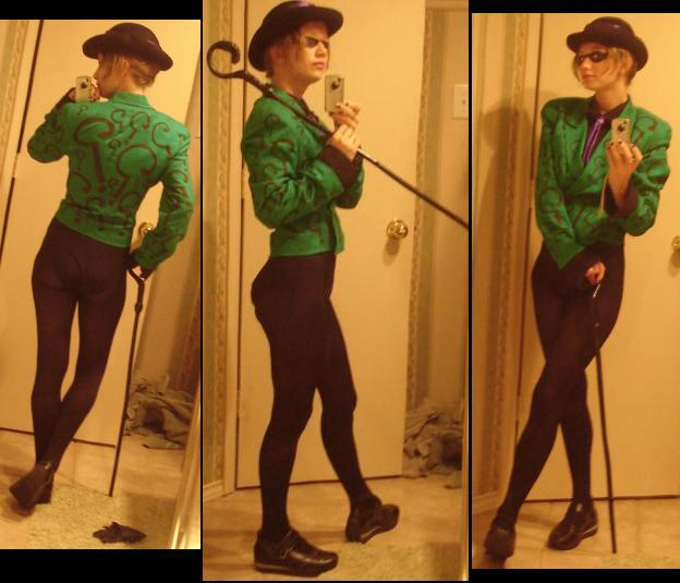 Riddlah Costume by speedbumprebound