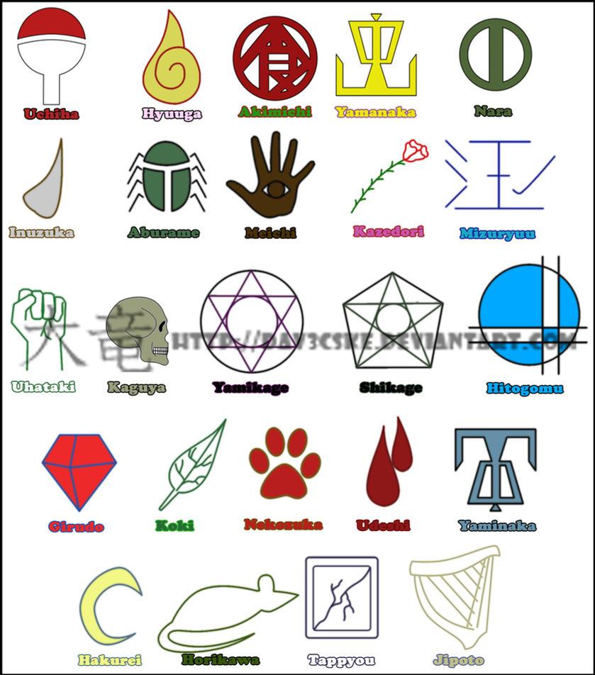 Yamanaka Clan Symbol Clan Symbols by Dav3cske