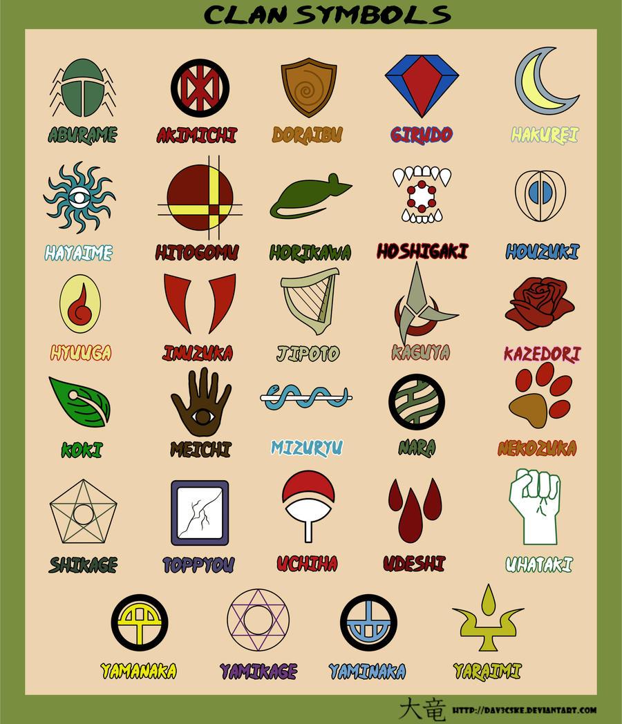 Clan Symbols 2 by Dav3cske on DeviantArt