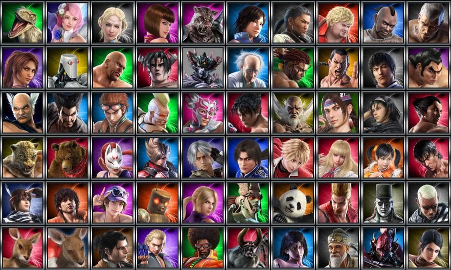 Tekken Tag Tournament 2 Icons Pack By Xxkyrarosalesxx On Deviantart