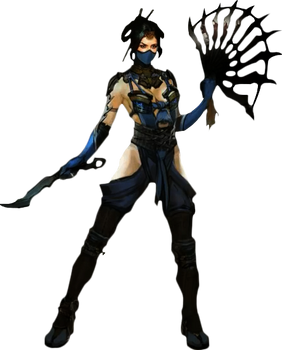 Kitana Mortal Kombat X Render
