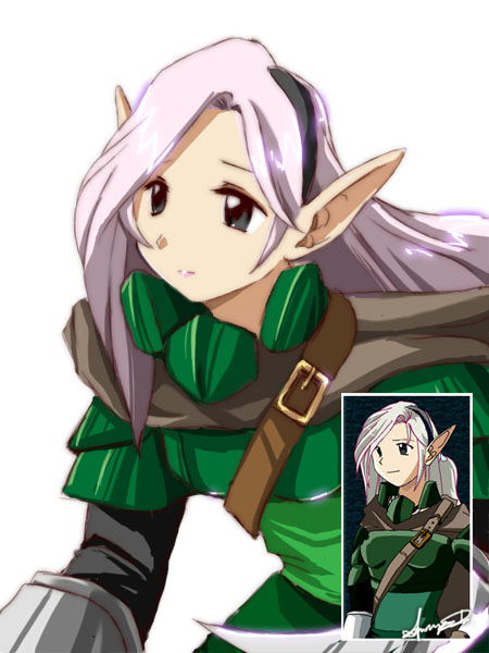 Anime Character Design Generator : Character maker sample elf by xdanond on deviantart