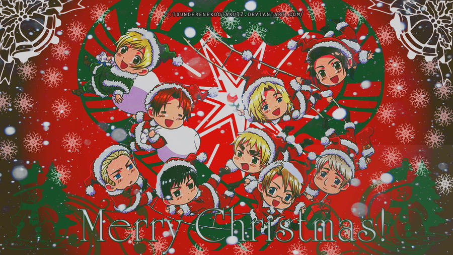 Hetalia Images Christmas Hd Collection 16 Wallpapers