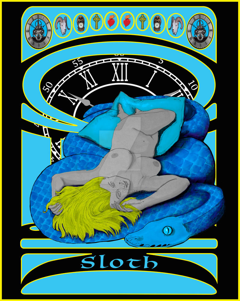 7 sins - Sloth by Centurion77