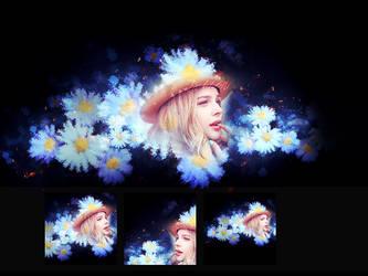 140728:Chloe Moretz(Only for sike) by RachelLAU