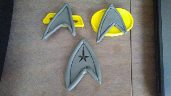 Star Trek Badges through the Ages