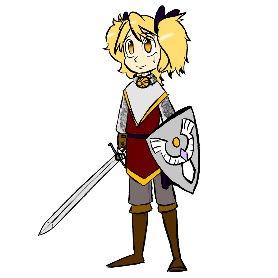 Little and Naive Paladin by Queen-FenrisUlfr