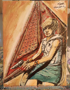Silent Hill 3 painting