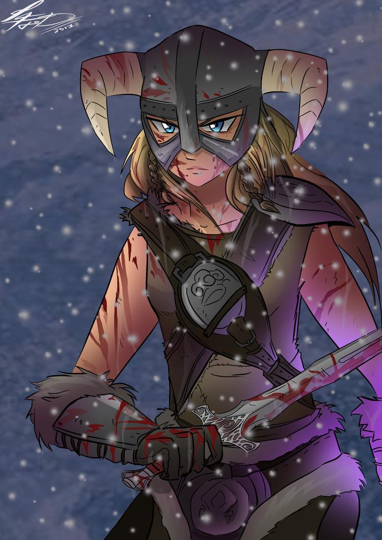 FemDragonbord from Skyrim v3 by GregBubbles