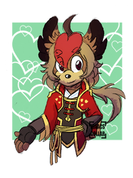 [Comm] King of Hearts by Isaacs-Collar