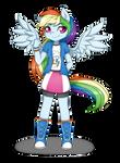 Rainbow Dash in Equestria Girls