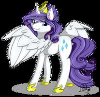 Princess Rarity by Pillonchou
