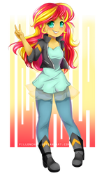 Sunset by Pillonchou