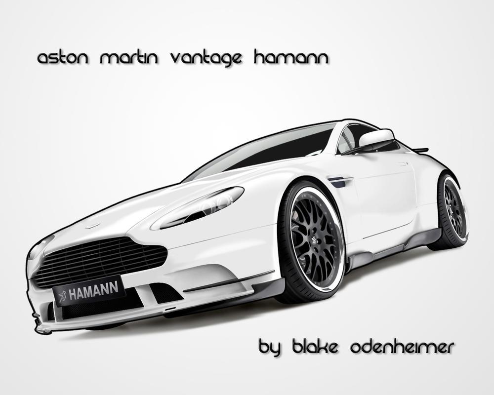 Aston Martin Vantage Hamann by HomeRun217