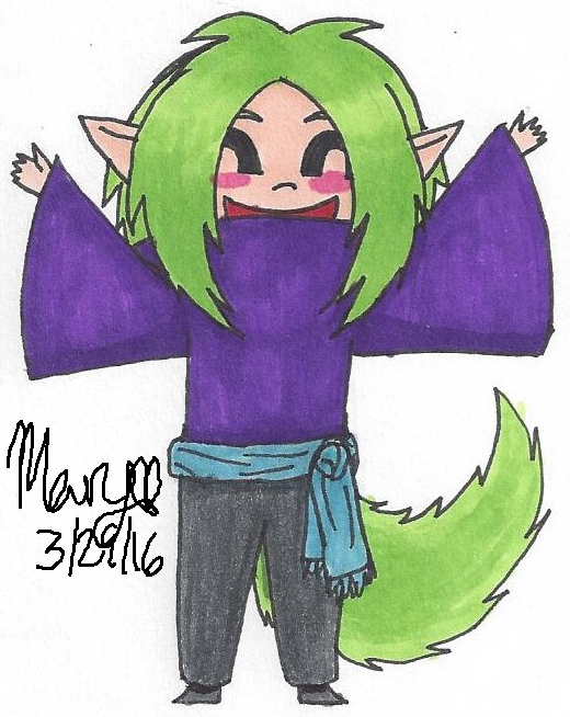 Green by Hellsoul-Wolf