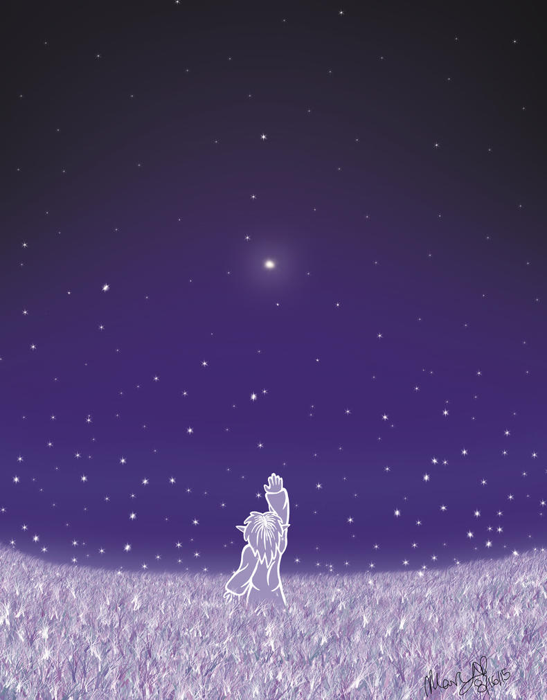 Green Star by Hellsoul-Wolf