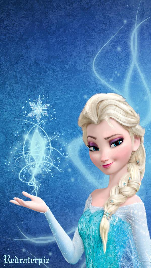 Frozen Elsa IPhone Wallpaper By Redcaterpie