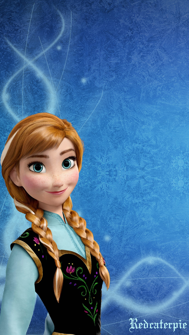 Frozen Anna IPhone Wallpaper By Redcaterpie