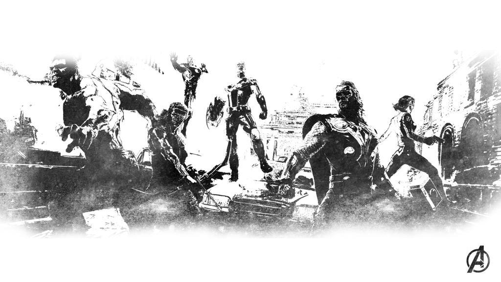 Avengers Wallpaper by MrSteiners on DeviantArt