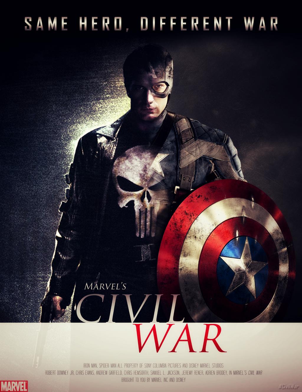 marvel 39 s civil war poster 3 by mrsteiners on deviantart. Black Bedroom Furniture Sets. Home Design Ideas
