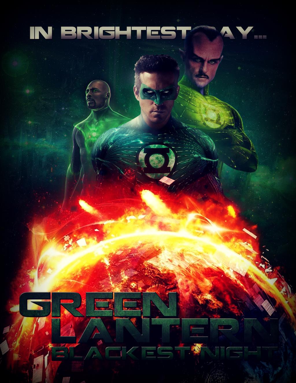 Green Lantern Blackest Night GL2 By MrSteiners