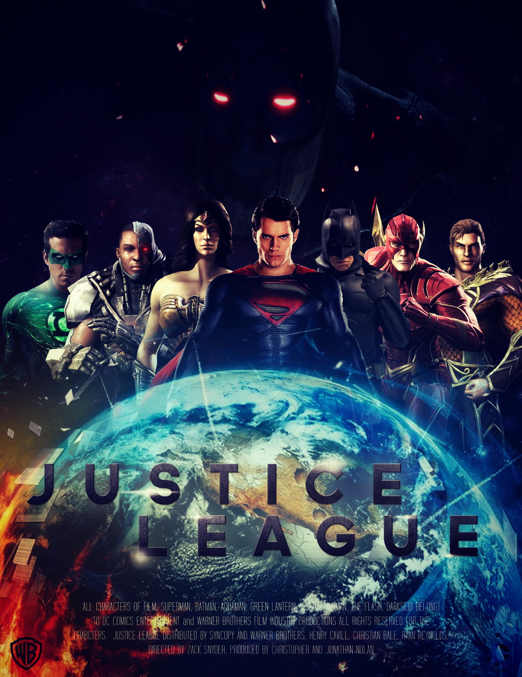 JUSTICE LEAGUE - Poster II by MrSteiners on DeviantArt