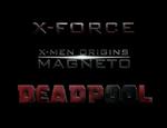 X-Men: MAGNETO - DEADPOOL - X-FORCE : LOGO