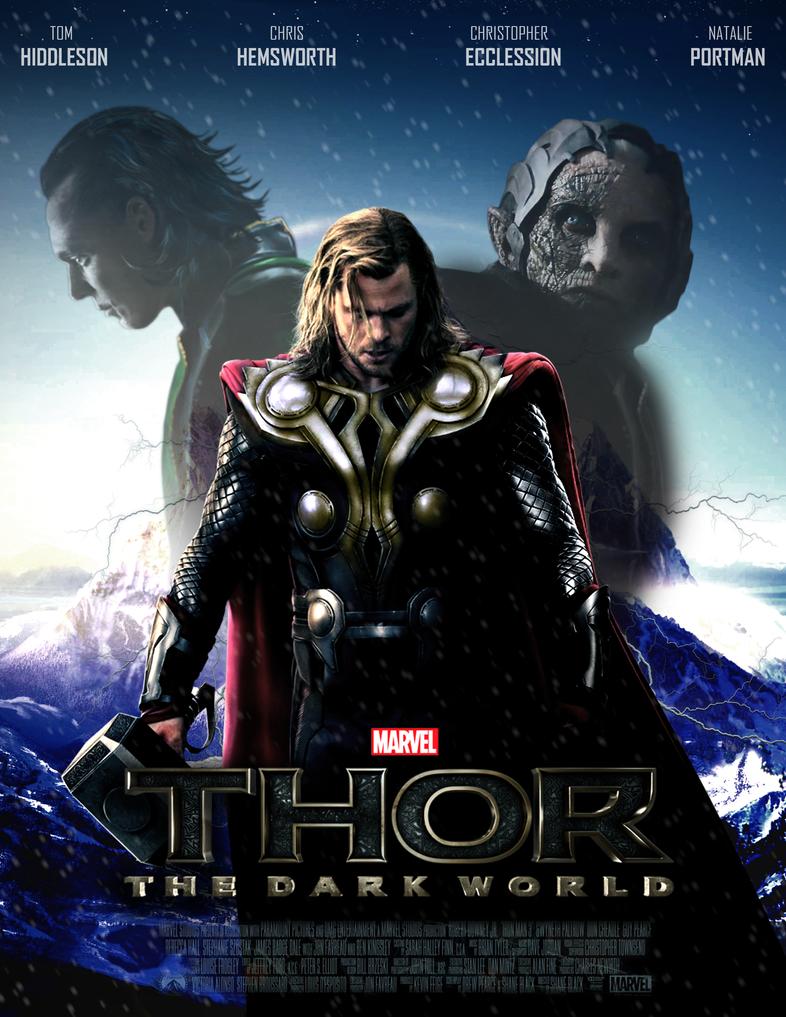 thor the dark world poster ii by mrsteiners on deviantart