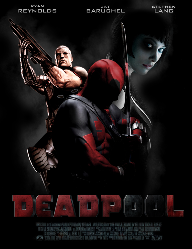 DEADPOOL - POSTER II by MrSteiners on DeviantArt