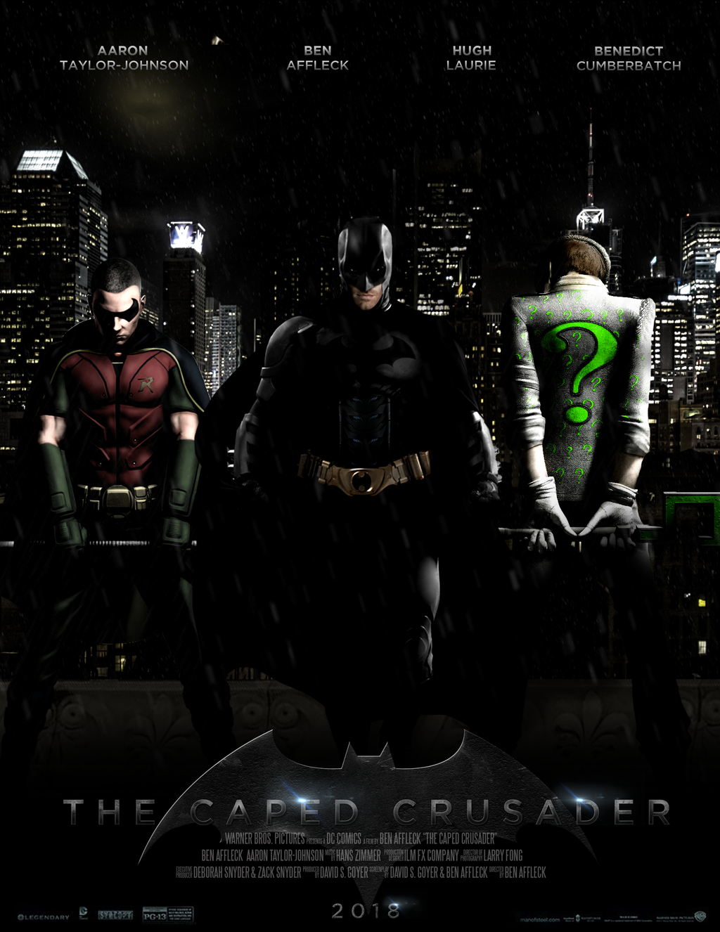 THE CAPED CRUSADER - POSTER II by MrSteiners