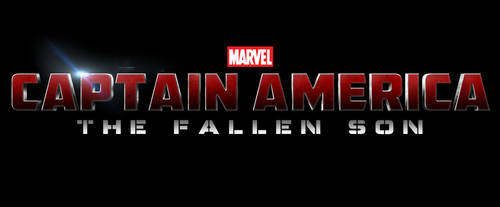 Marvel's CAPTAIN AMERICA: THE FALLEN SON - LOGO