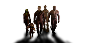 Marvel's GUARDIANS OF THE GALAXY - Team PNG