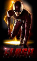 THE FLASH (CLASSIC SUIT) - POSTER I