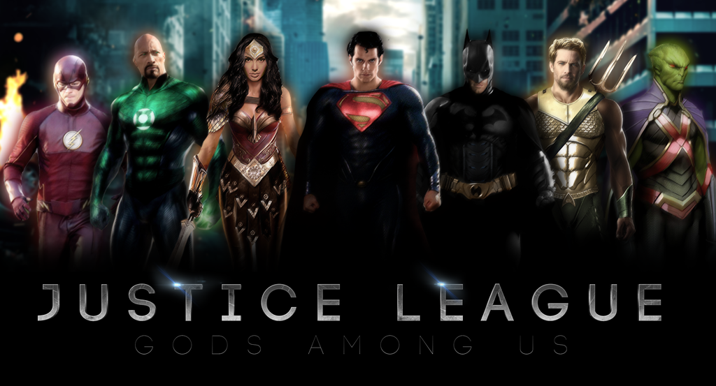 JUSTICE LEAGUE - Banner I by MrSteiners