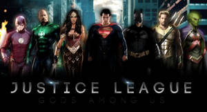 JUSTICE LEAGUE - Banner I