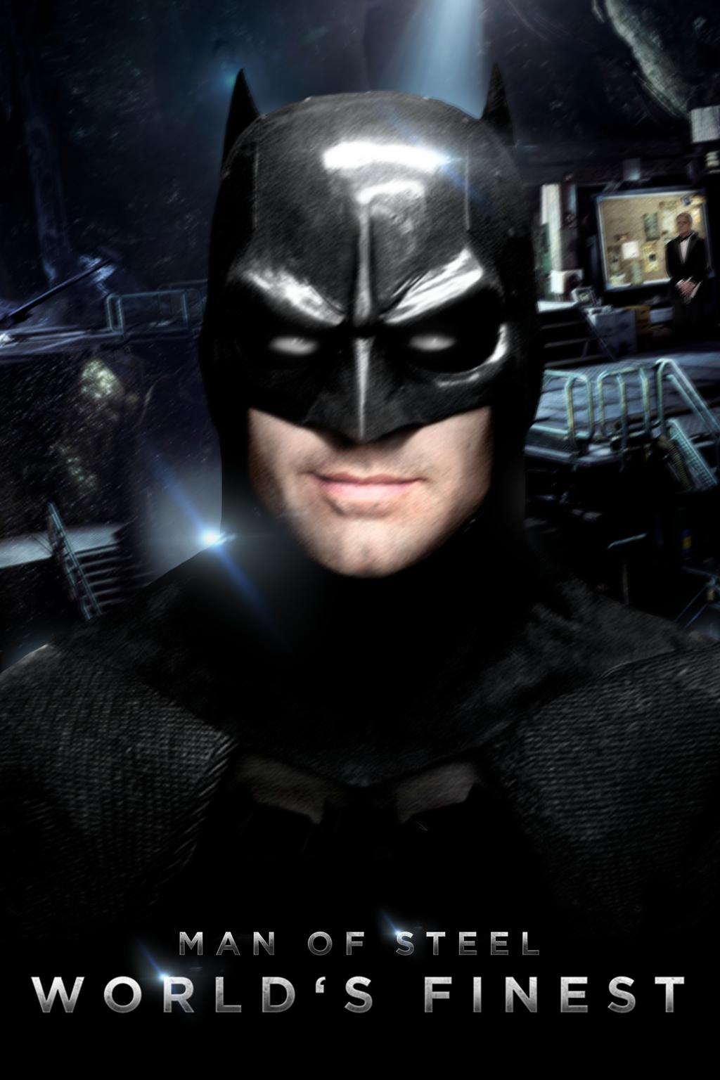 MAN OF STEEL: WORLD'S FINEST - BATMAN - Poster I- by MrSteiners