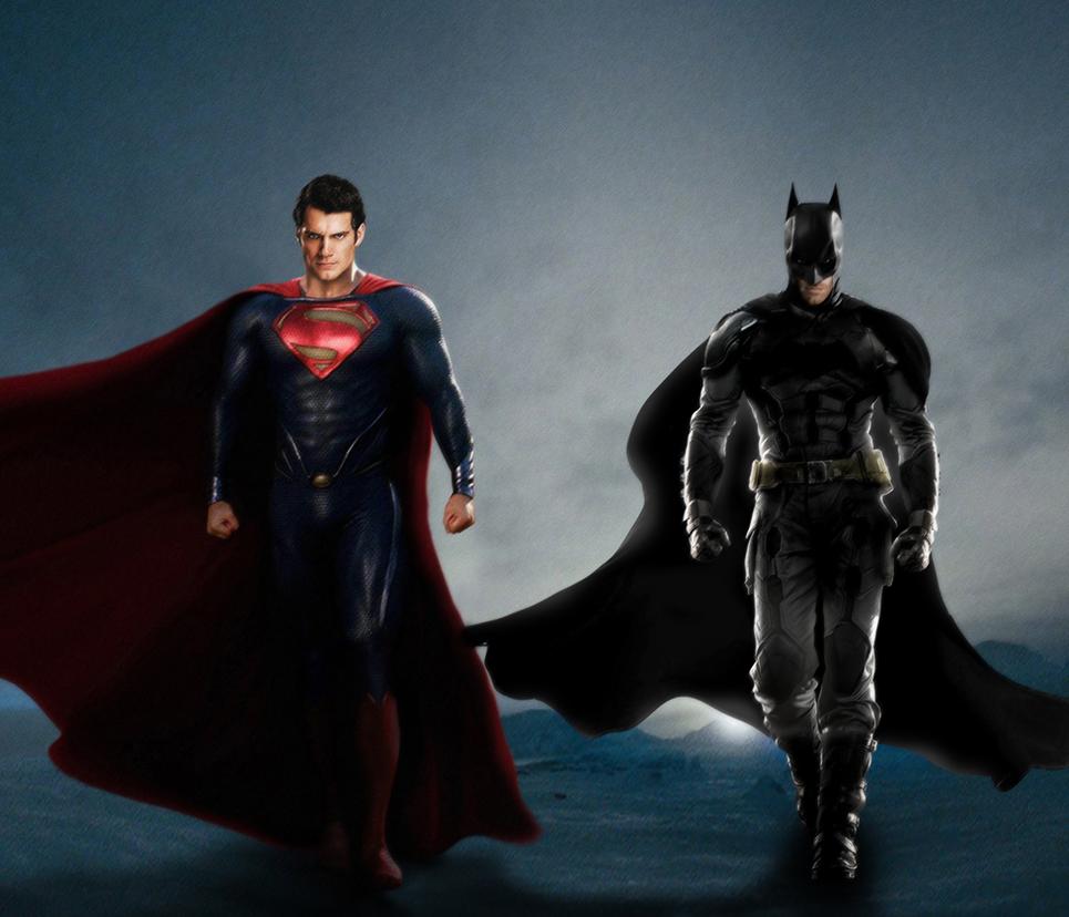 Man Of Steel 2 Batman Costume BATMAN + SUPERMAN - MA...