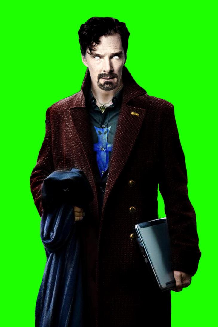 Benedict Cumberbatch as Doctor Strange - MANIP by MrSteiners