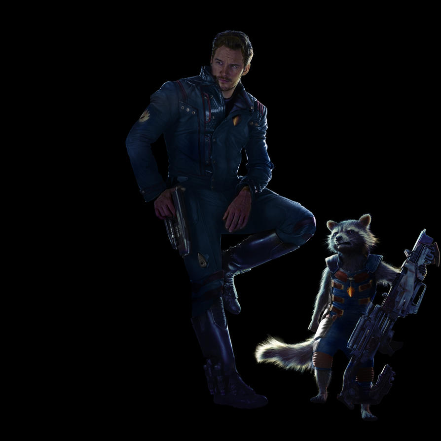 Star Lord And Rocket Raccoon By Timothygreenii On Deviantart: GOTG2 MANIPULATION By MrSteiners On
