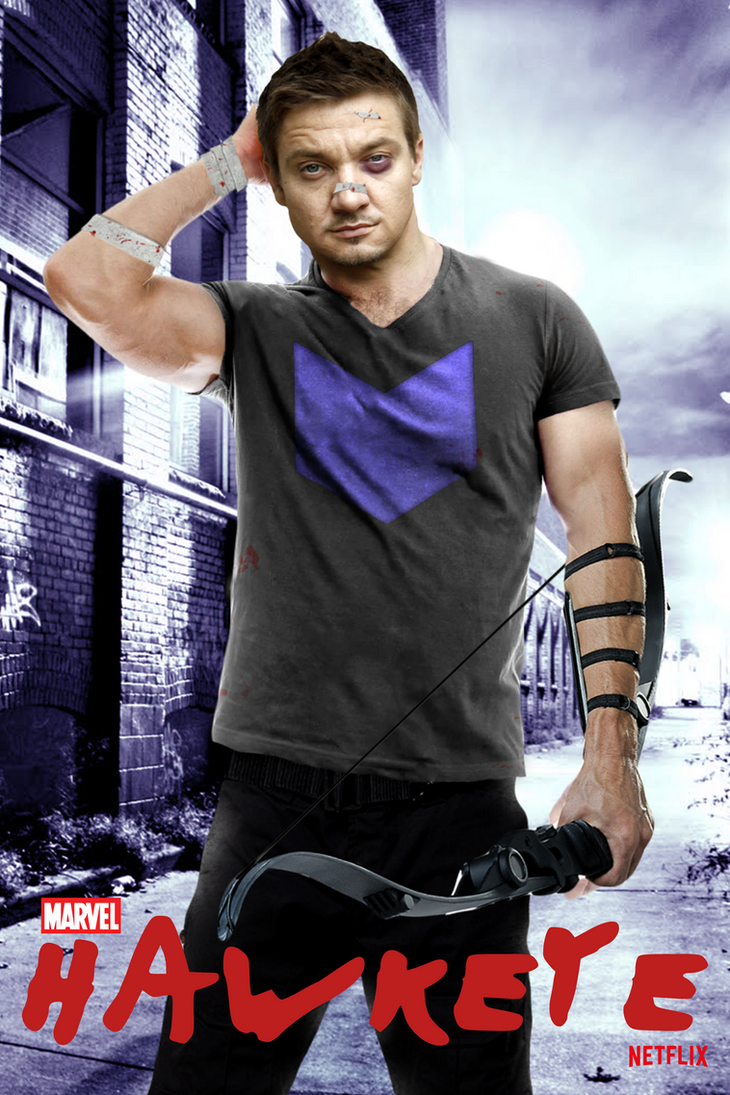 Marvel's HAWKEYE - POSTER by MrSteiners