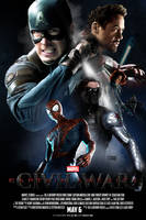 Marvel's CAPTAIN AMERICA: CIVIL WAR - POSTER I by MrSteiners
