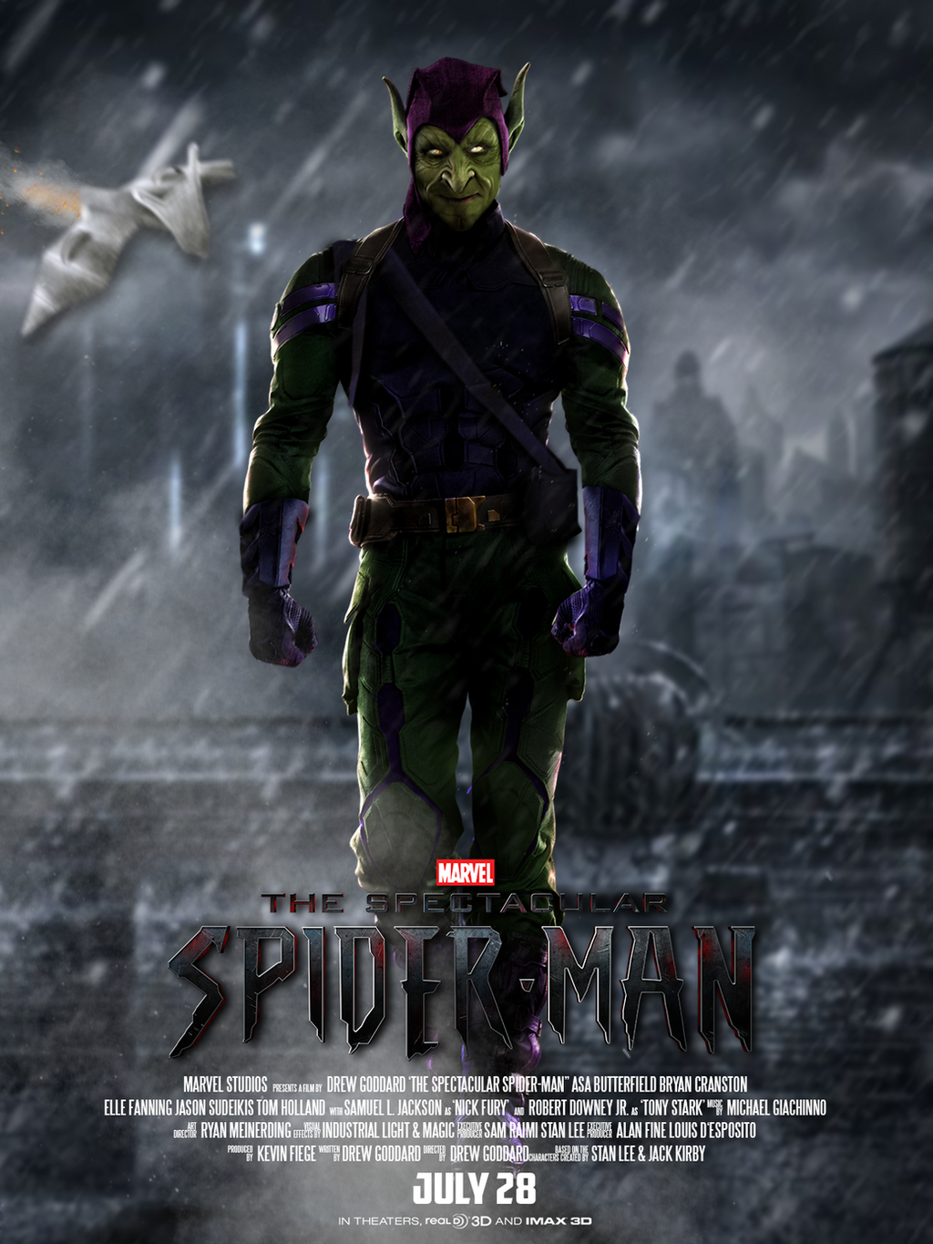 Marvel's SPIDER-MAN - POSTER: GREEN GOBLIN by MrSteiners ...