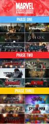Marvel Cinematic Universe Filmography - V2 by MrSteiners