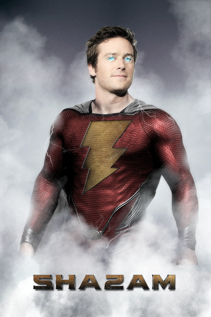Armie Hammer as Shazam - MANIPULATION by MrSteiners
