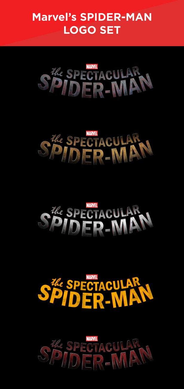 Marvel's SPIDER-MAN - LOGO SET by MrSteiners